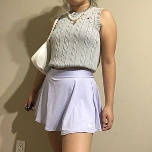 Nike Skirts - Nike Flounce Pleated Tennis Skirt Lavender/Lilac